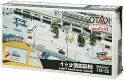 KATO N SCALE DIO TOWN STATION AREA ROAD PLATES