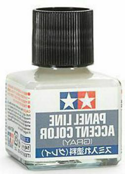 TAMIYA Panel Line Accent Color Gray For Plastic Model Kits #
