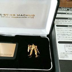 PLASTIC MODEL LIMITED EDITION / PURE GOLD RX-78-2 GUNDAM FRO